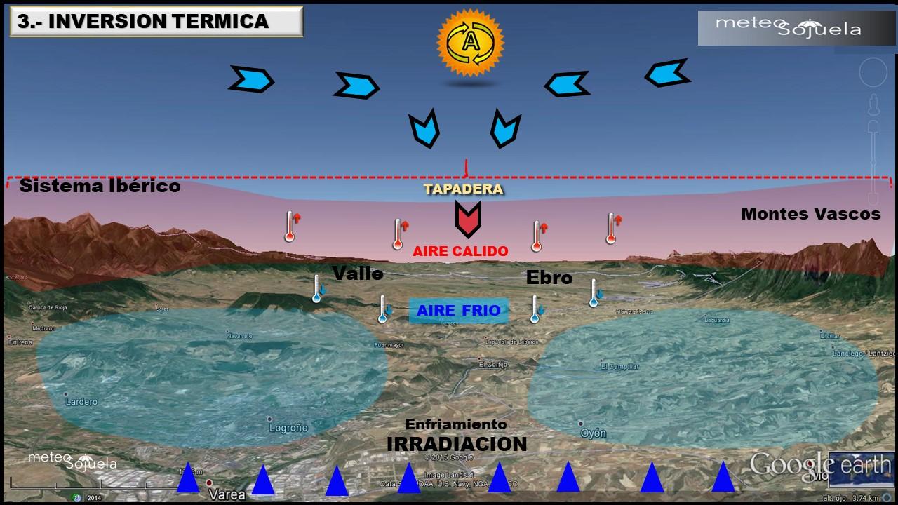inversion termica josecalvo meteosojuela