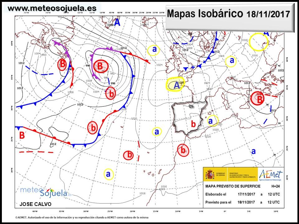 tiemp,hoy,larioja,meteosojuela,josecalvo,mapas isobaricos