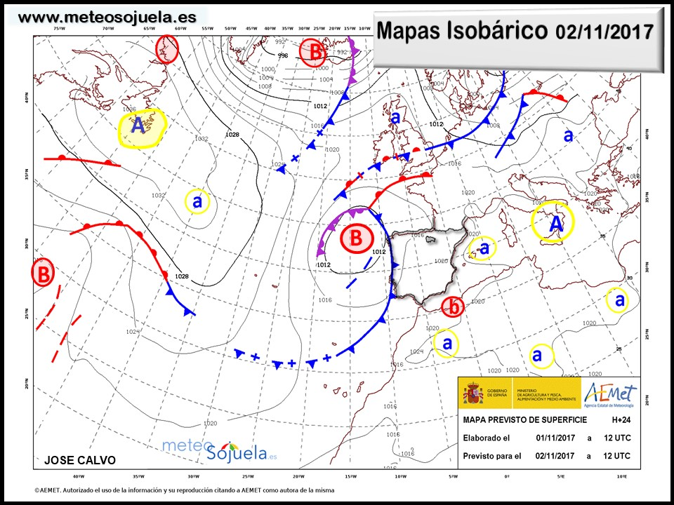 tiempo,hoy larioja josecalvo meteosojuela mapa isobarico