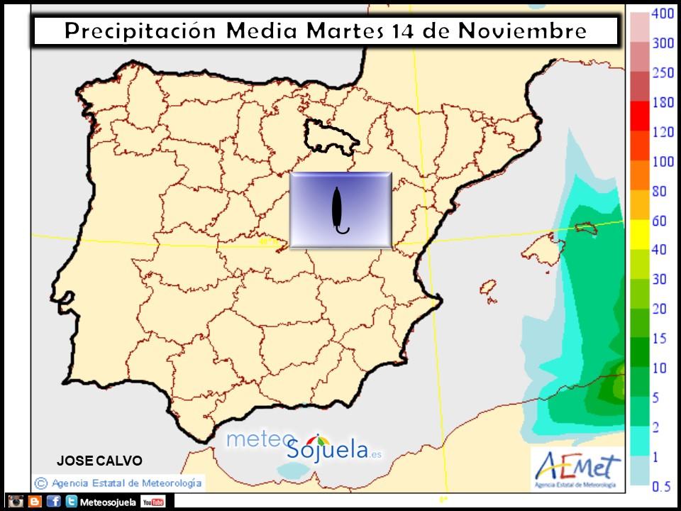 tiempo,hoy,larioja,josecalvo,meteosojuela,mapa precipitacion