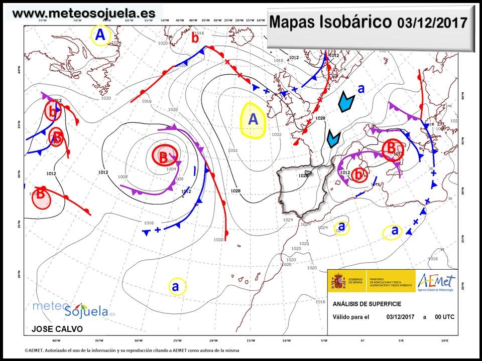 mapa isobarico, tiempo,hoy,larioja,josecalvo,meteosojuela