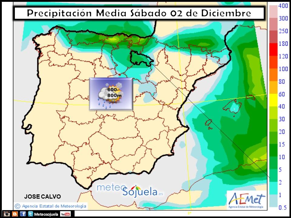 mapa precipitaciones, tiempo,hoy,larioja,josecalvo,meteosojuela