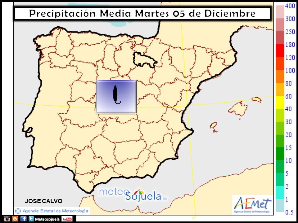 mapa PRECIPITACIONES ,tiempo,hoy,larioja,josecalvo,meteosojuela