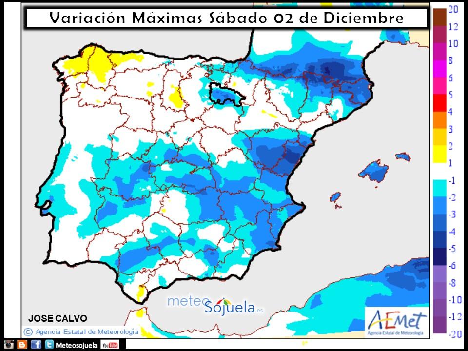 mapa temperaturas, tiempo,hoy,larioja,josecalvo,meteosojuela