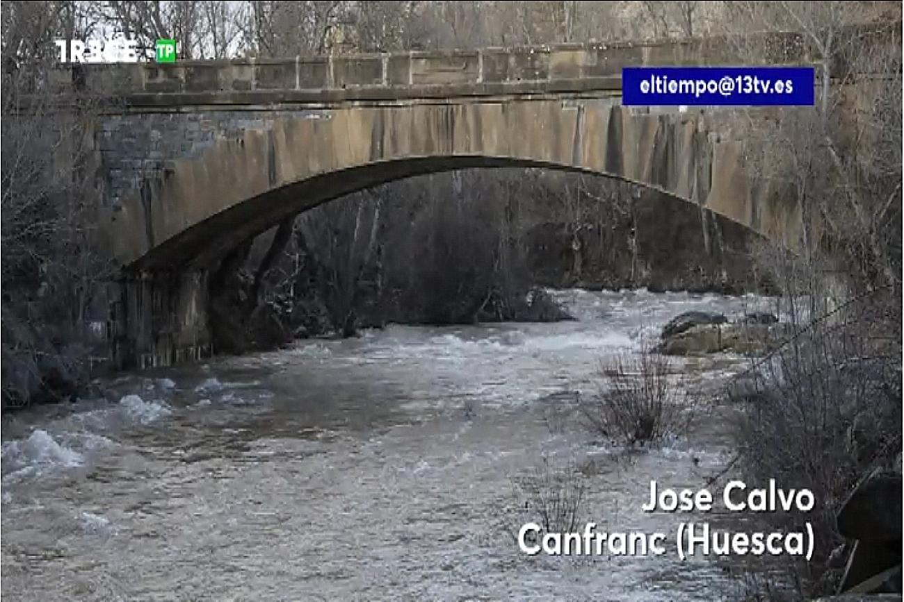 Deshielo. Trece TV Meteosojuela La Rioja 2312