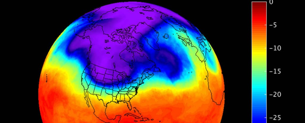 Vortice Polar. Meteosojuela