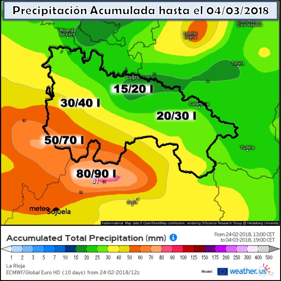 precipitacion acumulada, josecalvo,meteosojuela, tiempo ,la rioja