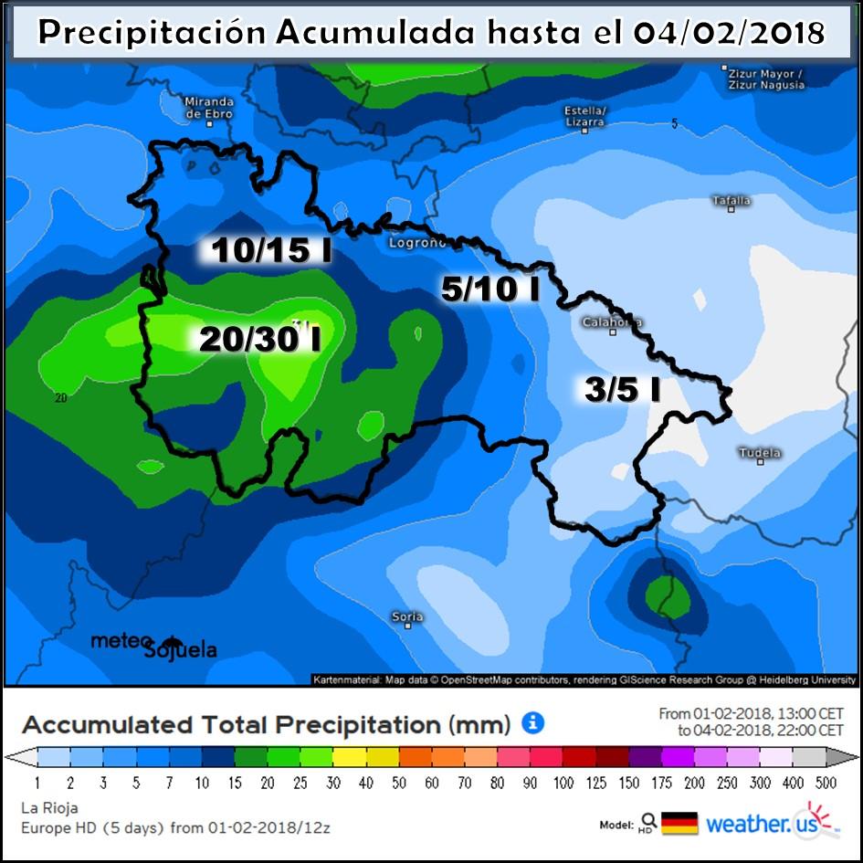 WEATHERUS precipitacion acumulada josecalvo,meteosojuela,tiempo,larioja