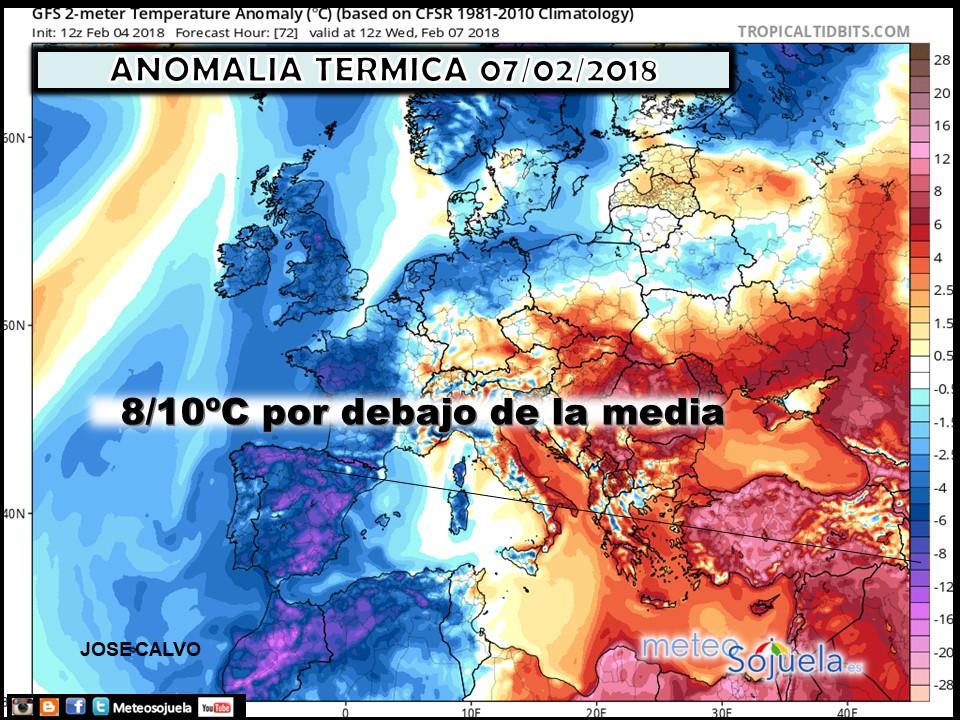 anomalias termicas, tiempo,larioja,josecalvo,meteosojuela