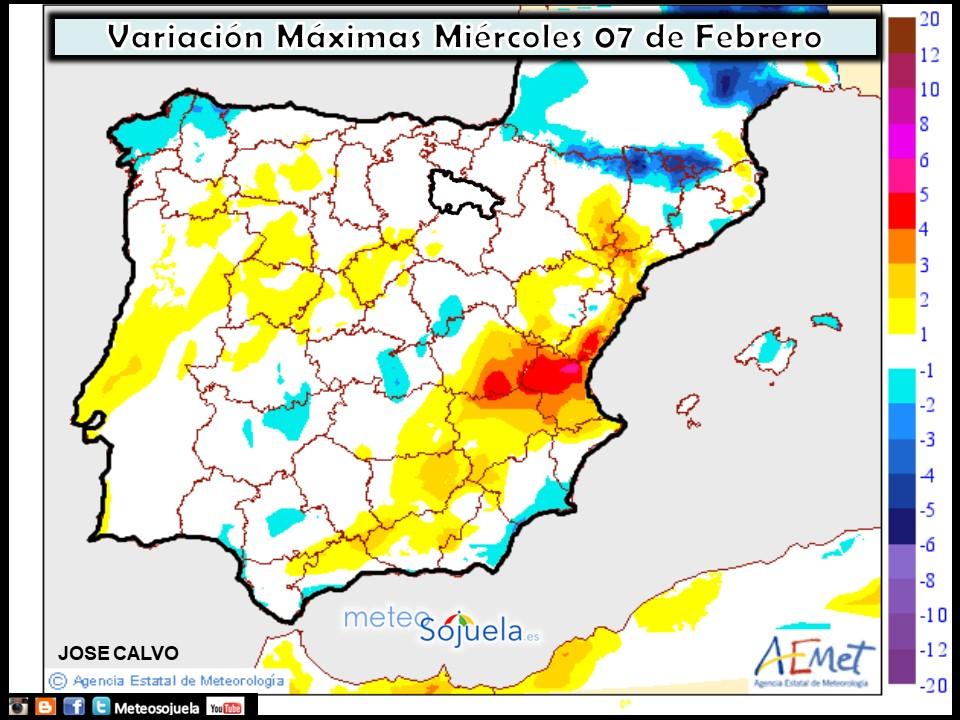 mapa temperaturas,tiempo,hoy,larioja,josecalvo,meteosojuela