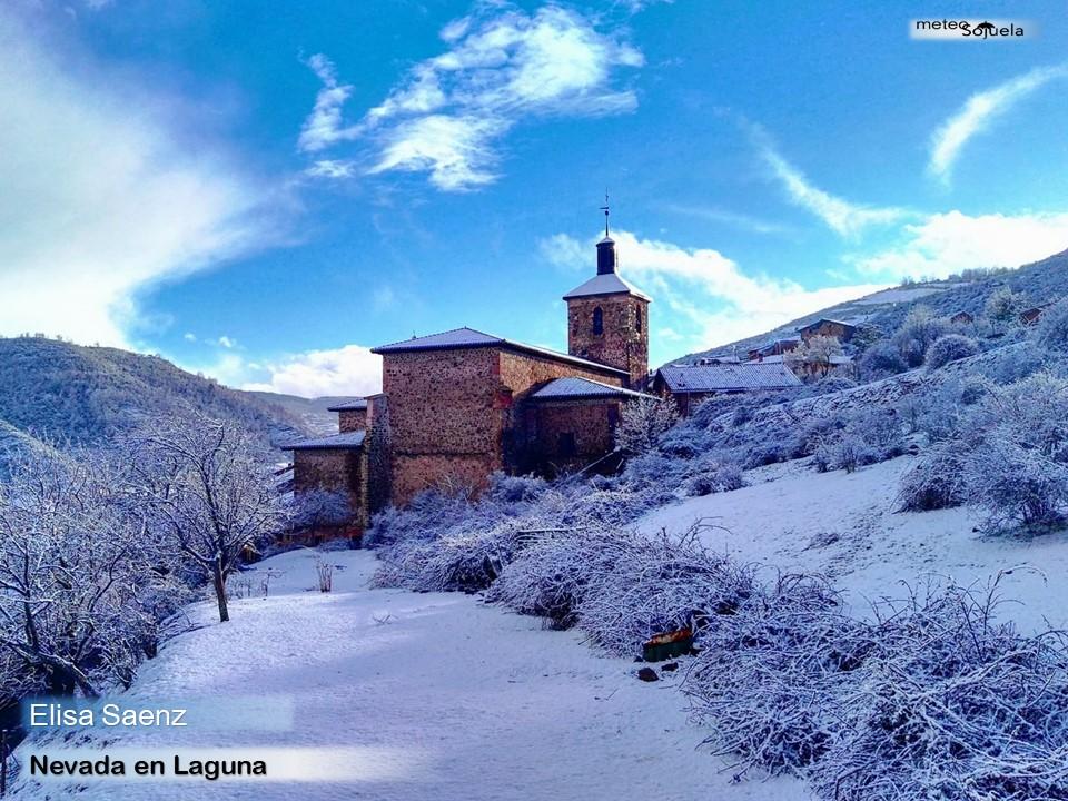 Nieve en Laguna .eLISA. Meteosojuela