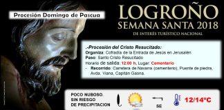 Procesiones. Semana Santa 2018 La Rioja. Meteosojuela