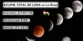 Eclipse Total de Luna. Meteosojuela