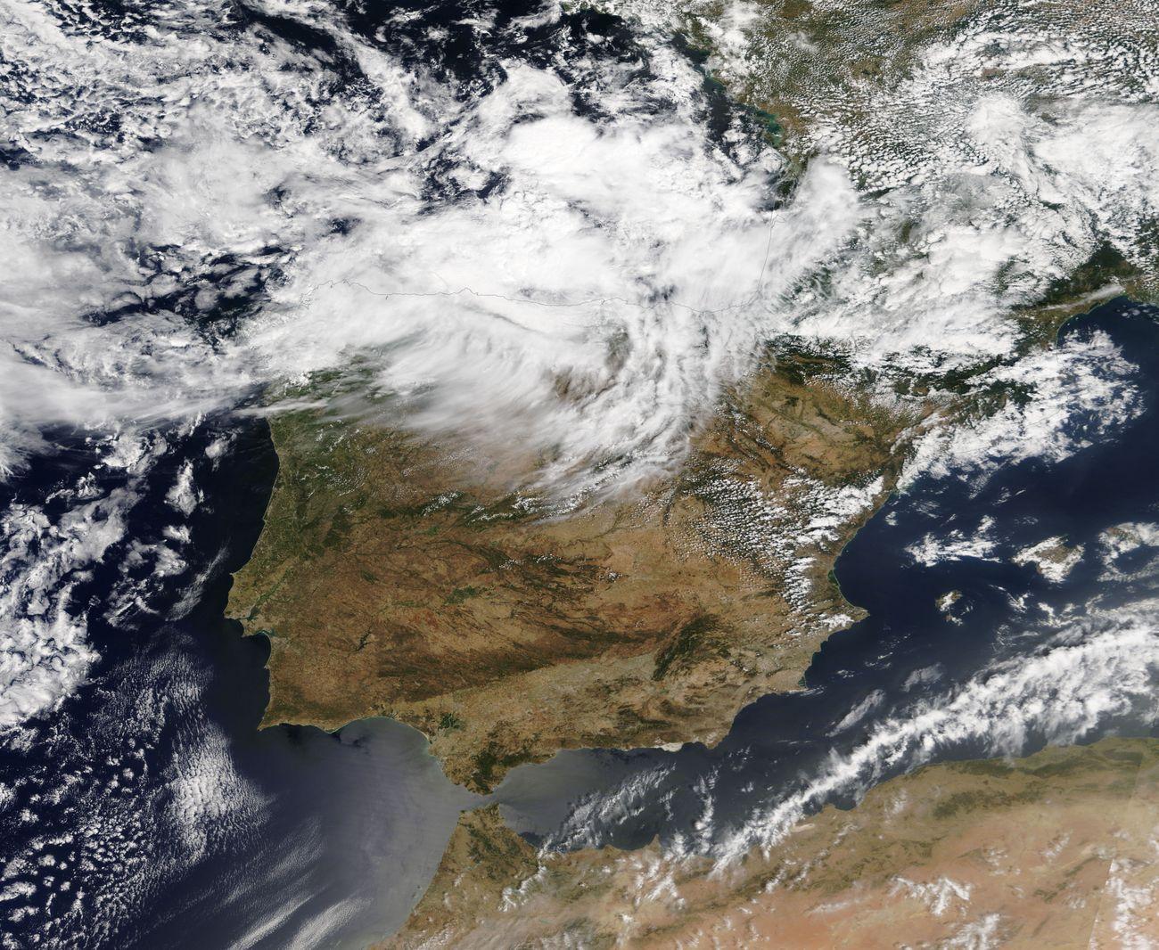 Imágenes de satélite. Meteosojuela