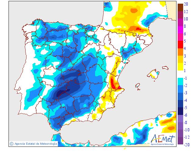 Modelo de temperaturas máximas de AEMET.Meteosojuela