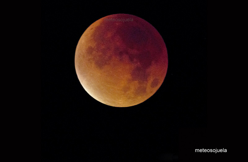 Luna de sangre, luna de vino meteosojuela