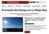 Portada Harodigital.com.Meteosojuela