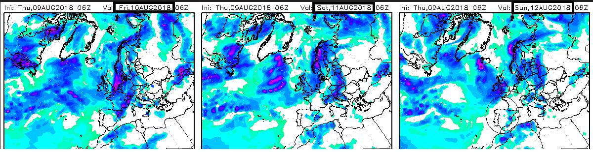 Modelos de precipitación.Meteosojuela