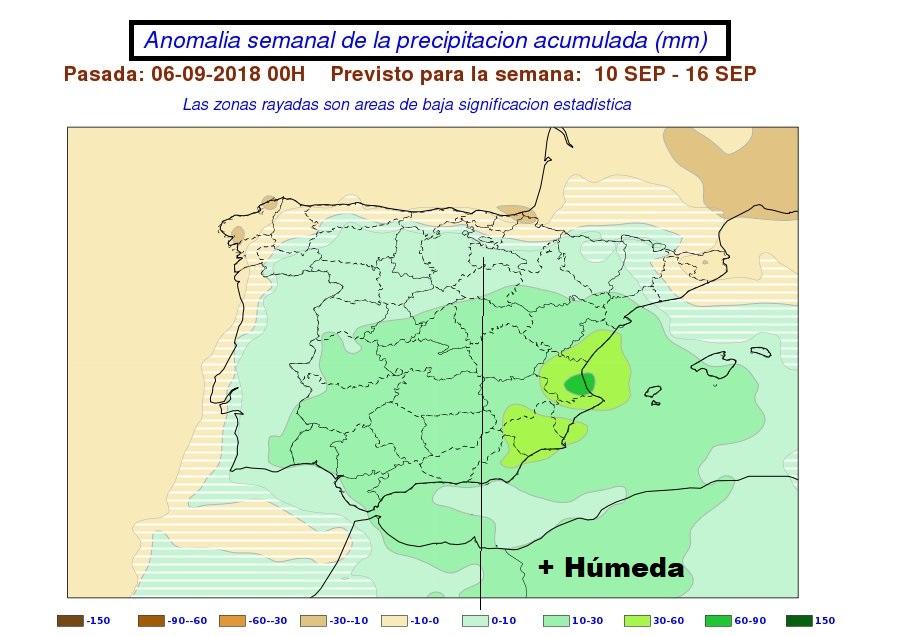 Anomalías en la temperatura y precipitación AEMET. Meteosojuela