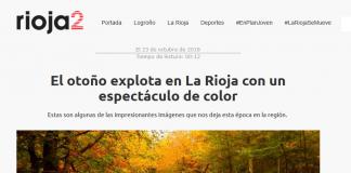 Portada periódico Rioja2.com.Meteosojuela