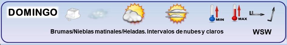 Leyenda. Iconos, simbolos tiempo en La Rioja. Meteosojuela 02