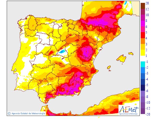 Variación temperaturas máximas AEMET. Meteosojuela La Rioja 02