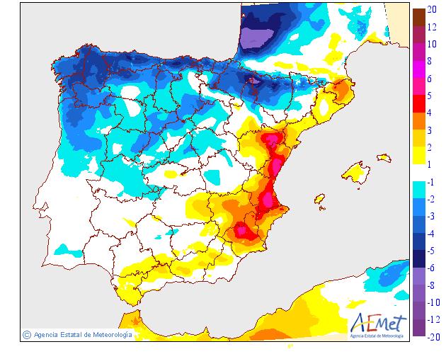 Variación temperaturas máximas AEMET. Meteosojuela La Rioja 20