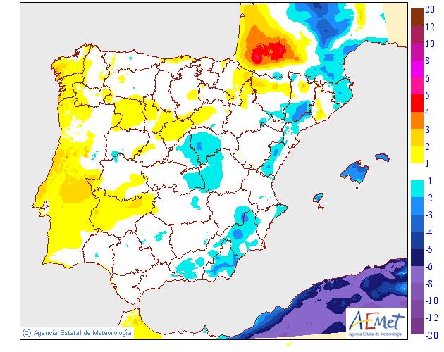 Variación temperaturas máximas AEMET. Meteosojuela La Rioja 24