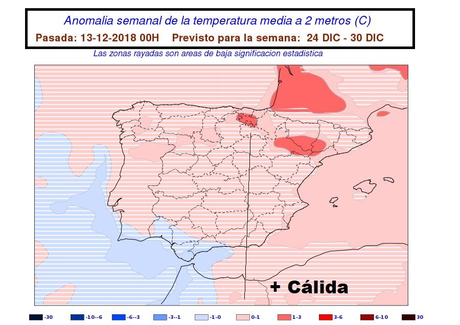 Anomalías de Temperatura AEMET. Meteosojuela