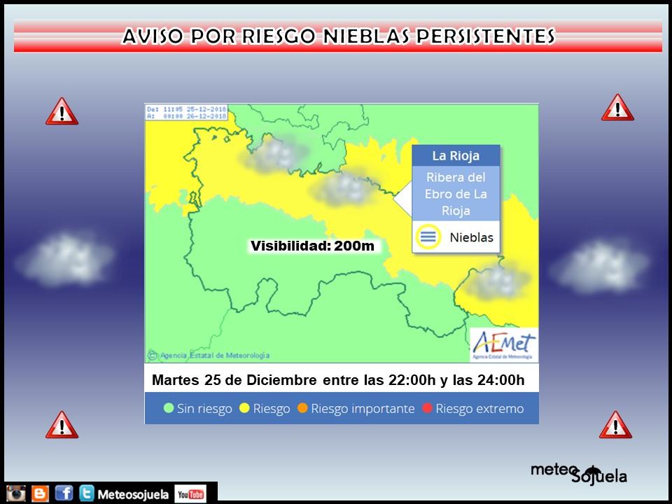 Avisoso AEMET Meteosojuela La Rioja Jose Calvo