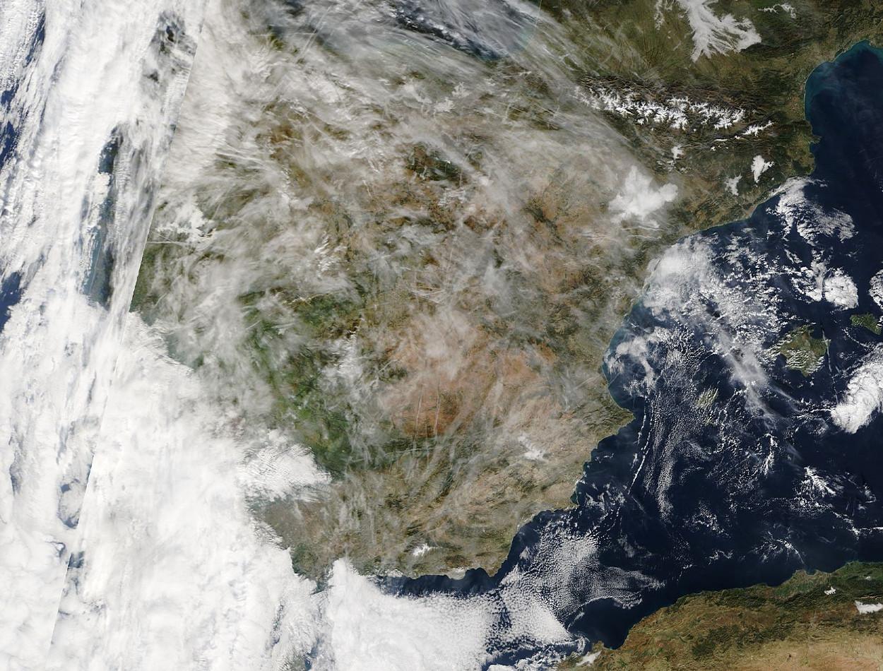 Imágenes de satélite. Meteosojuela La Rioja