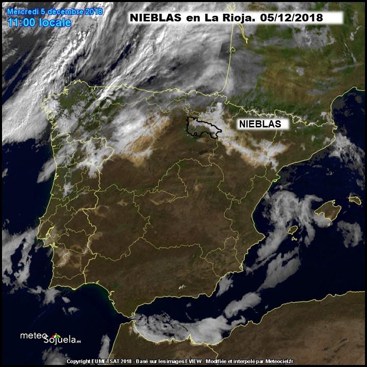 Imágenes Satélite METEOCIEL Meteosojuela.La Rioja