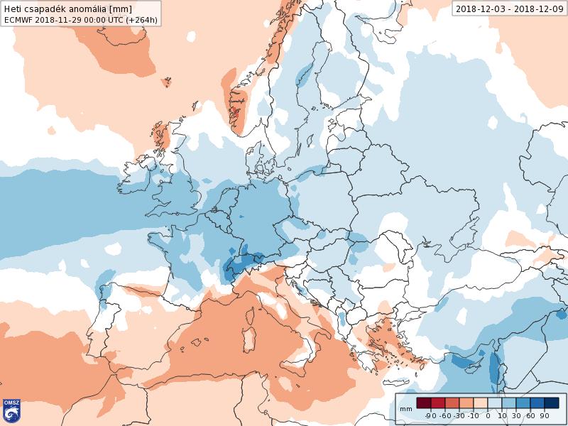 Modelos Anomalías de Precipitación ECWF. Meteosojuela La Rioja