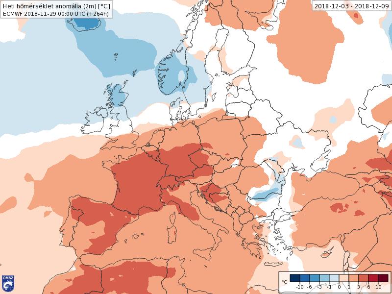 Modelos Anomalías de Temperatura ECWF. Meteosojuela La Rioja