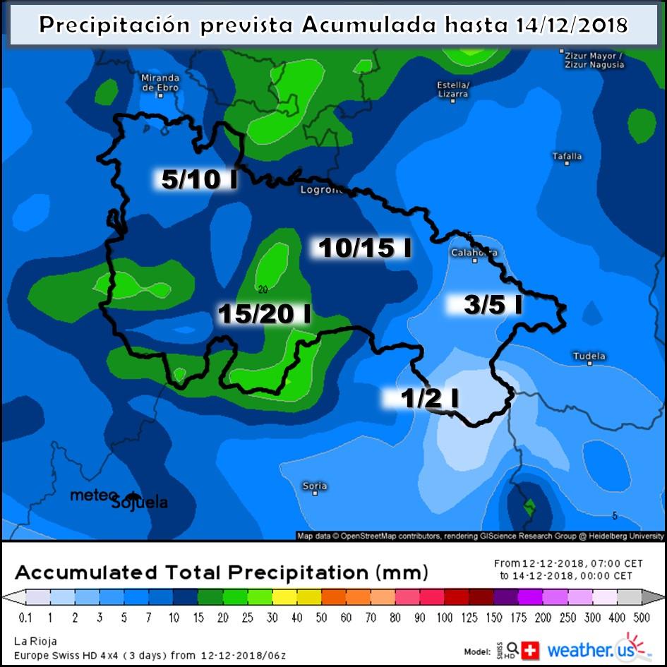 Modelos de precipitación acumulada