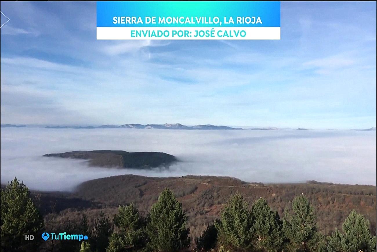 Moncalvillo. Antena 3. Meteosojuela La Rioja Jose Calvo