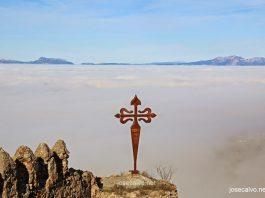 Niebla sobre Clavijo. Meteosojuela La Rioja. Jose Calvo