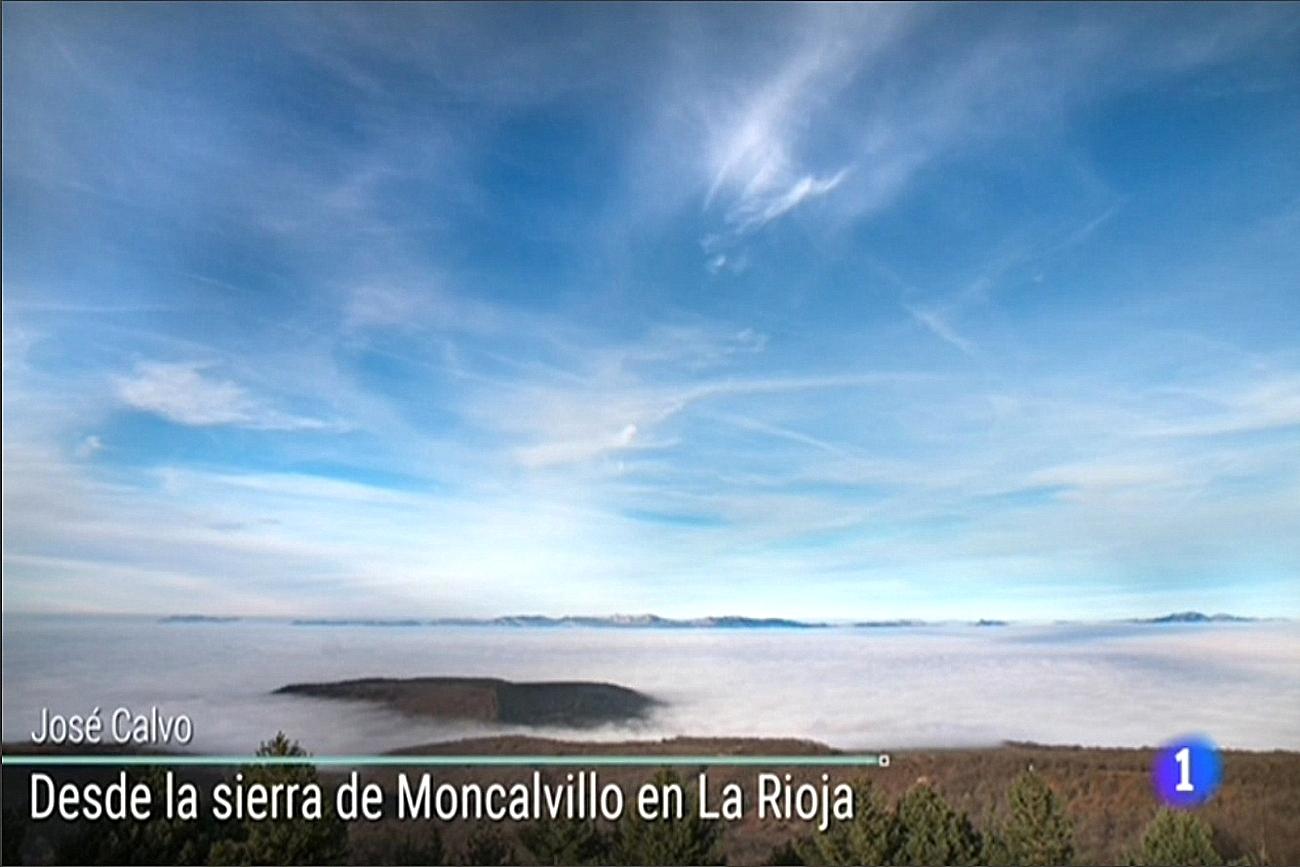 Nieblas Moncalvillo TVE1 Meteosojuela La Rioja Jose Calvo