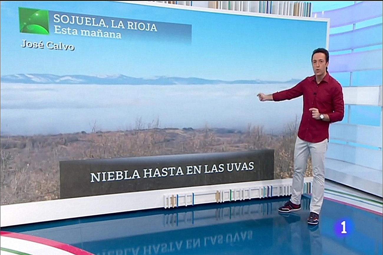 Nieblas Sojuela. Aquí la Tierra. Meteosojuela La Rioja Jose Calvo