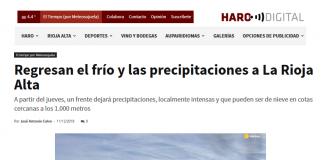 Portada Harodigital.com Meteosojuela 15. La Rioja