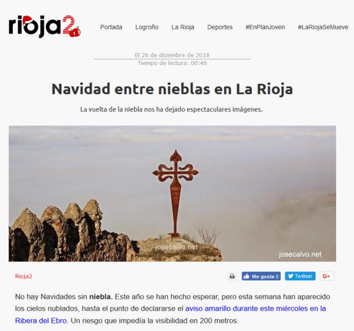 Portada Rioja2.com Meteosojuela. La Rioja