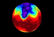 Vortex Polar. Meteosojuela La Rioja