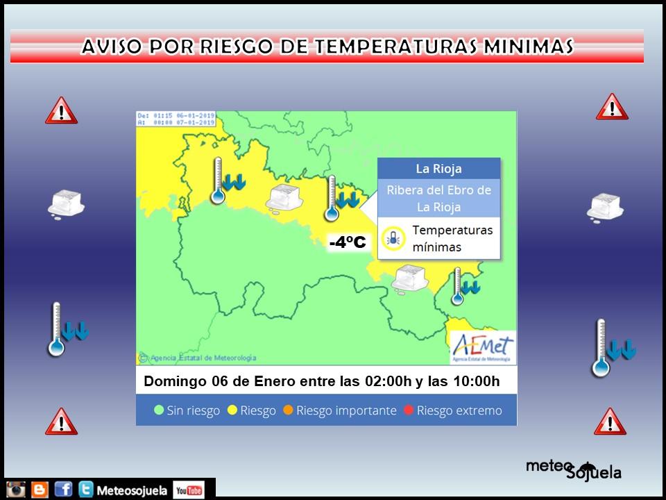 AVISOS de AEMET. Meteosojuela La Rioja jpg