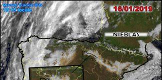 Imágenes satélite nieblas. Meteosojuela La Rioja