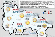 Probabilidad de Nieblas. Meteosojuela La Rioja