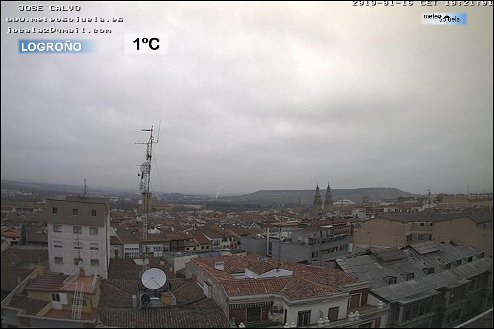 Nieblas Logroño Meteosojuela La Rioja