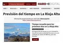 Portada Harodigital.com 12012019 Meteosojuela. La Rioja