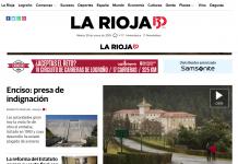 Portada Larioja.com 29012019 Meteosojuela La Rioja