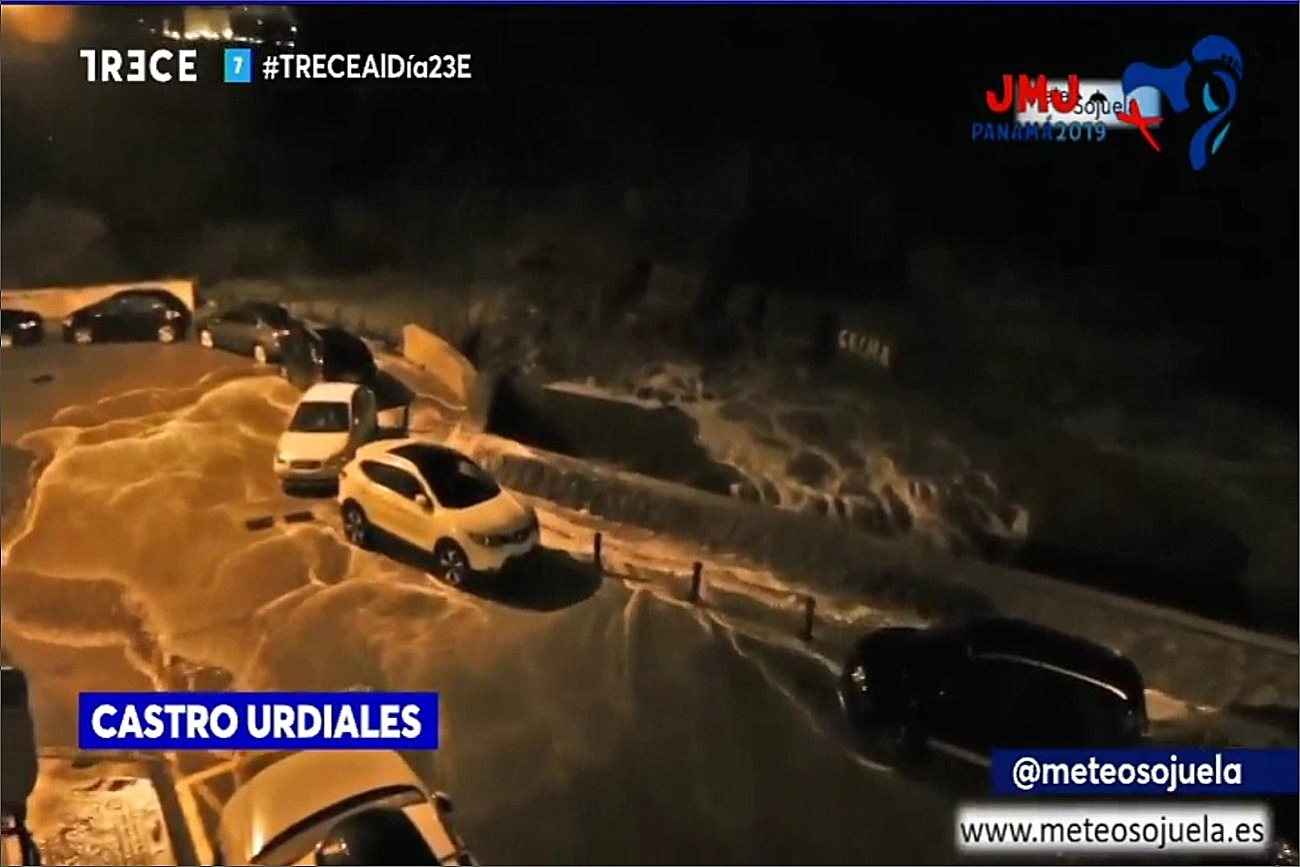 Temporal Olas Trece Tv. Meteosojuela La Rioja
