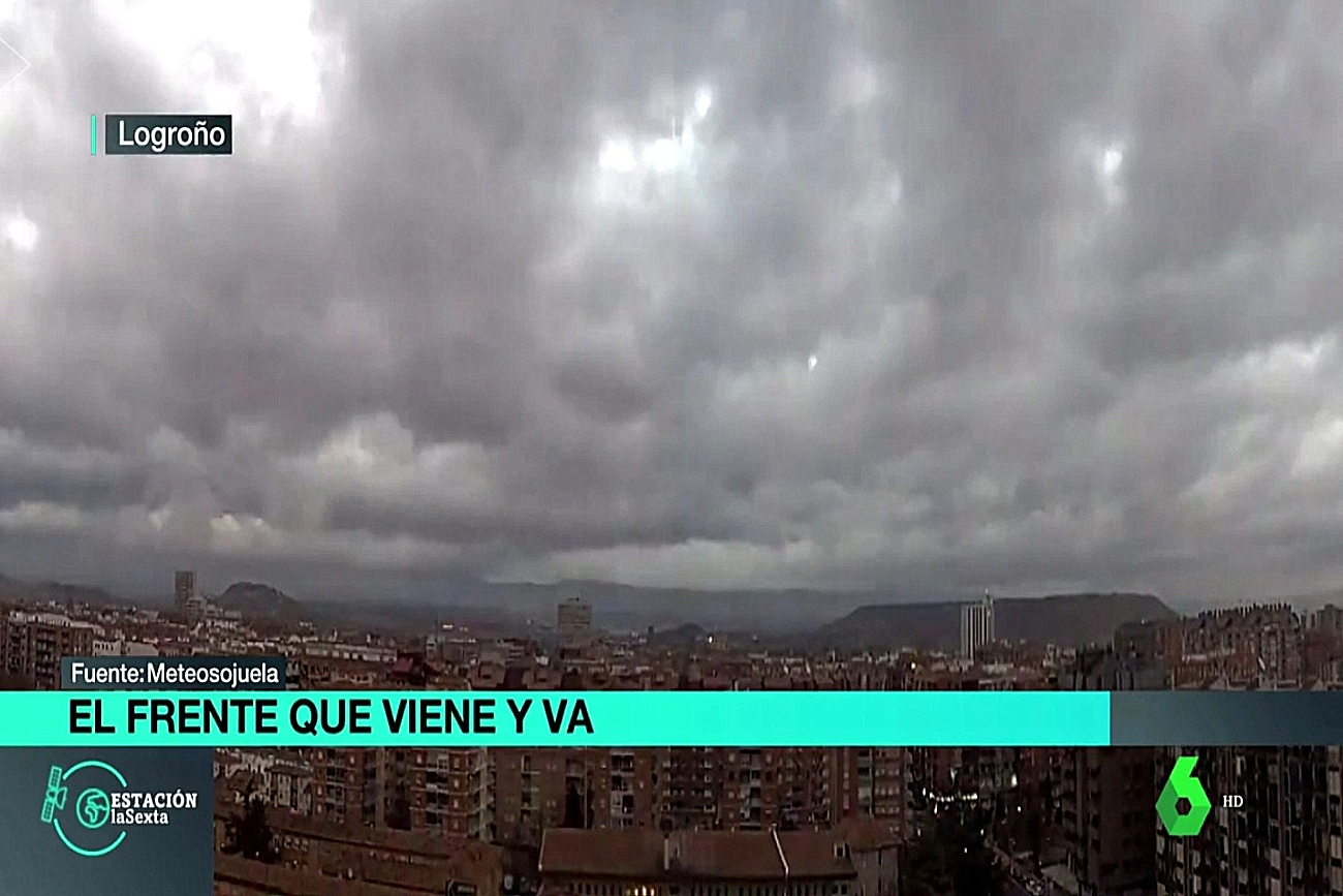 Web Cam Logroño Estación La Sexta. Meteosojuela La Rioja